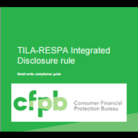 CFPB Integrated Rule